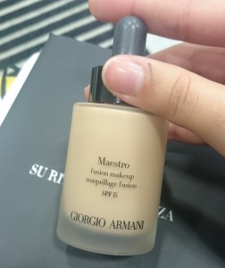 foundation maestro armani